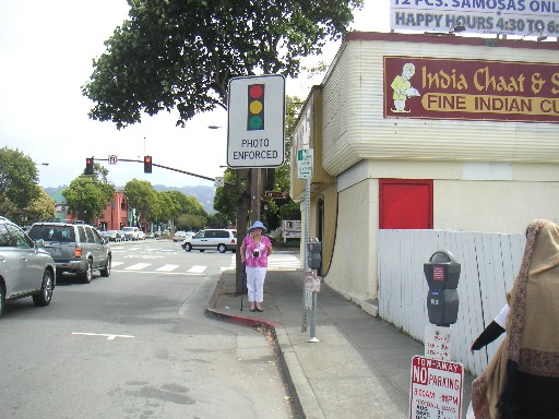 Berkeley red light camera
