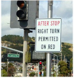 Illegal sign in South San Francisco